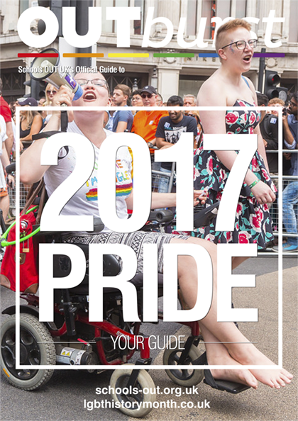 Schools OUT Guide to Pride 2017